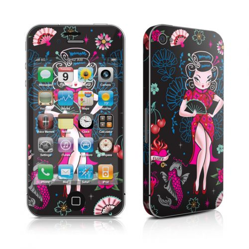 Geisha Gal iPhone 4s Skin
