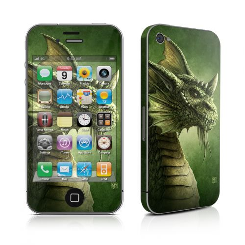 Green Dragon iPhone 4s Skin