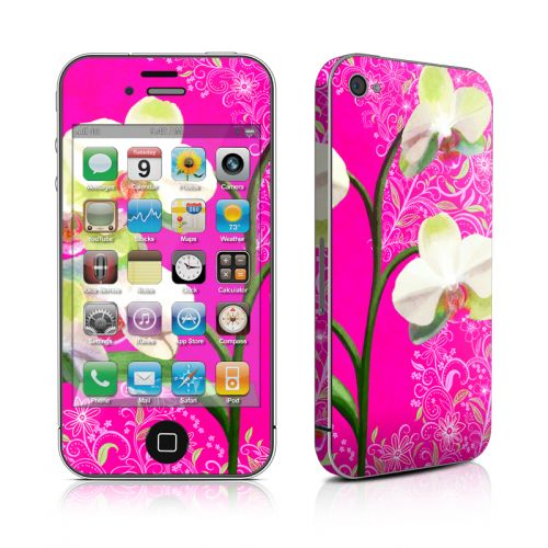 Hot Pink Pop iPhone 4s Skin