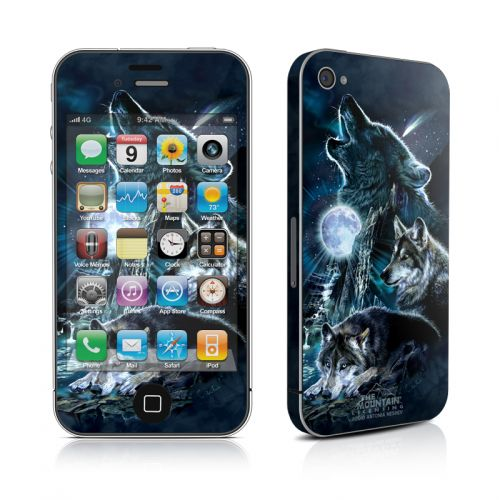 Howling iPhone 4s Skin
