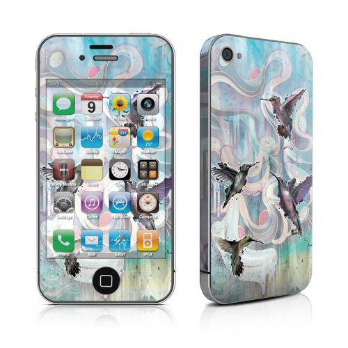Hummingbirds iPhone 4s Skin