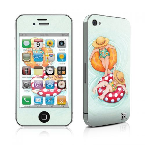Inner Tube Girls iPhone 4s Skin