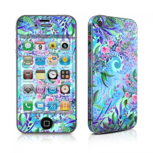 Lavender Flowers iPhone 4s Skin