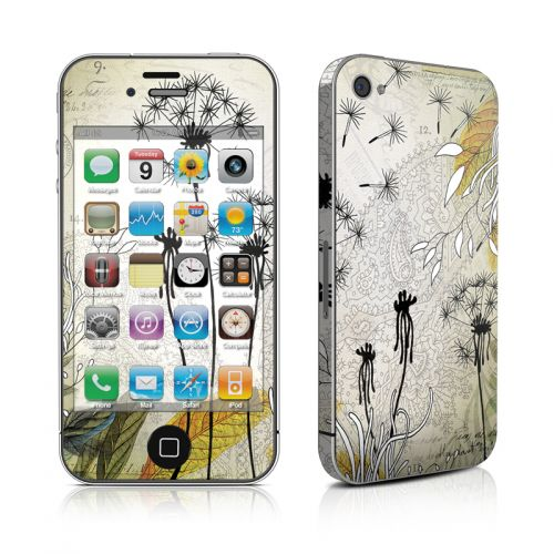 Little Dandelion iPhone 4s Skin