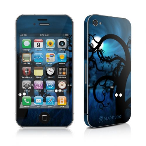 Midnight Forest iPhone 4s Skin