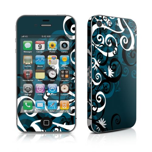 Midnight Garden iPhone 4s Skin