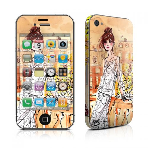 Mimosa Girl iPhone 4s Skin