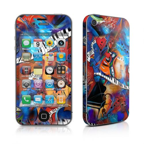 Music Madness iPhone 4s Skin
