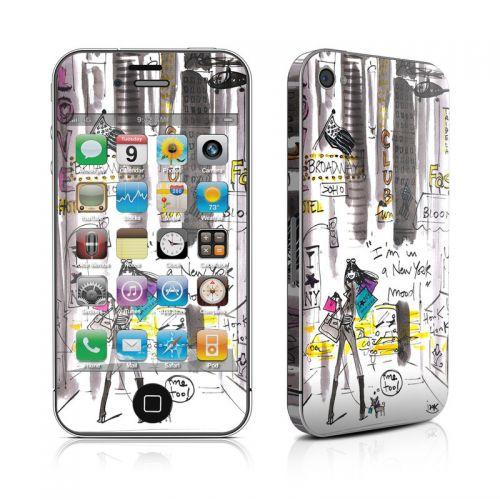 My New York Mood iPhone 4s Skin