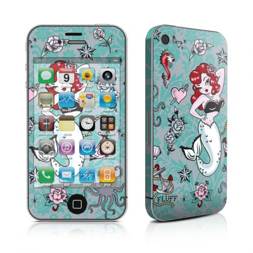 Molly Mermaid iPhone 4s Skin