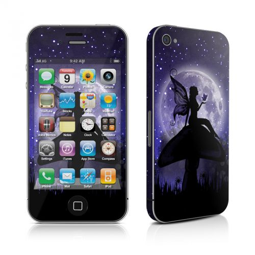 Moonlit Fairy iPhone 4s Skin