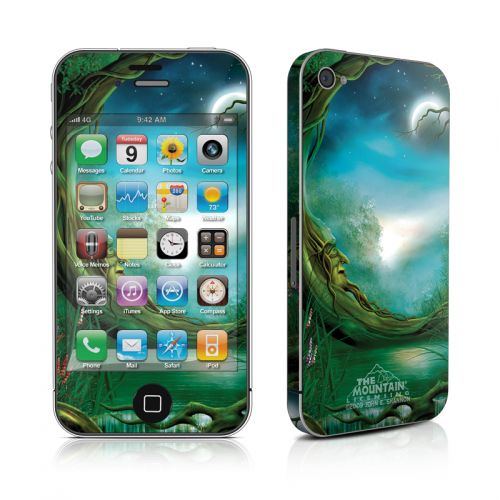 Moon Tree iPhone 4s Skin