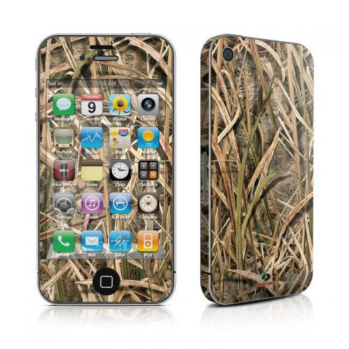 Shadow Grass Blades iPhone 4s Skin
