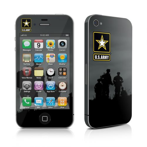Night Action iPhone 4s Skin