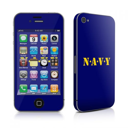 Navy iPhone 4s Skin