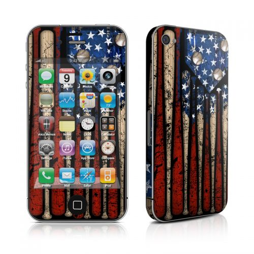 Old Glory iPhone 4s Skin
