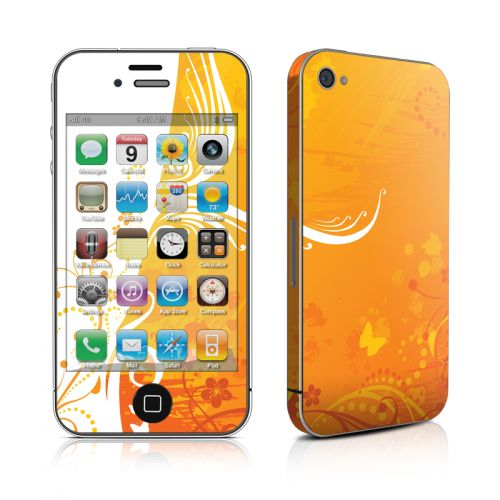 Orange Crush iPhone 4s Skin