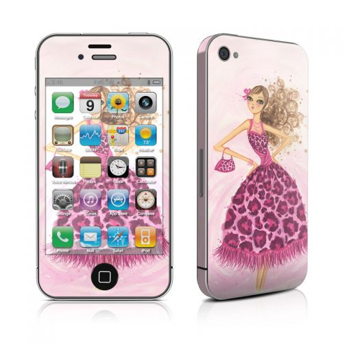 Perfectly Pink iPhone 4s Skin