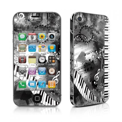 Piano Pizazz iPhone 4s Skin