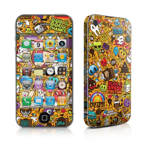 Psychedelic iPhone 4s Skin