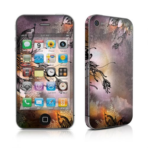 Purple Rain iPhone 4s Skin