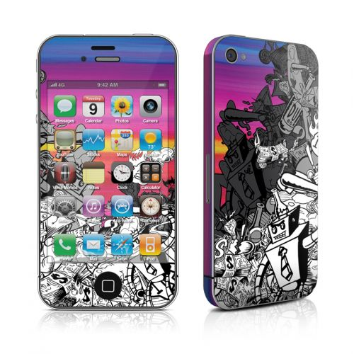 Robo Fight iPhone 4s Skin