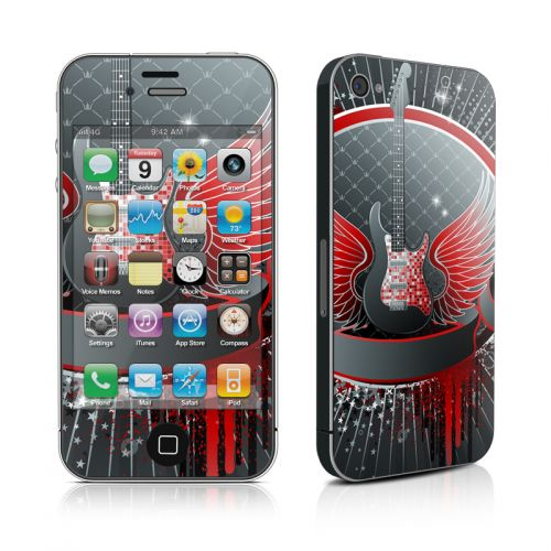 Rock Out iPhone 4s Skin