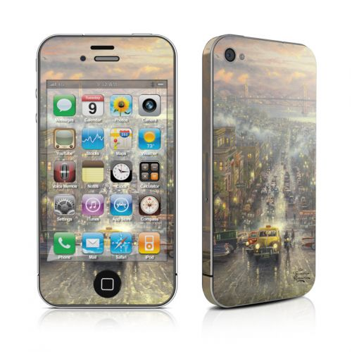 Heart of San Francisco iPhone 4s Skin