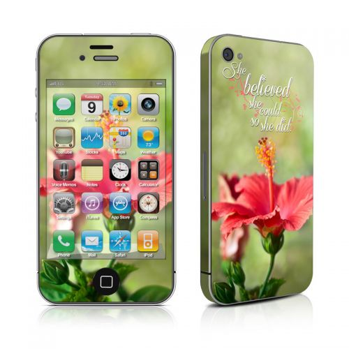 She Believed iPhone 4s Skin