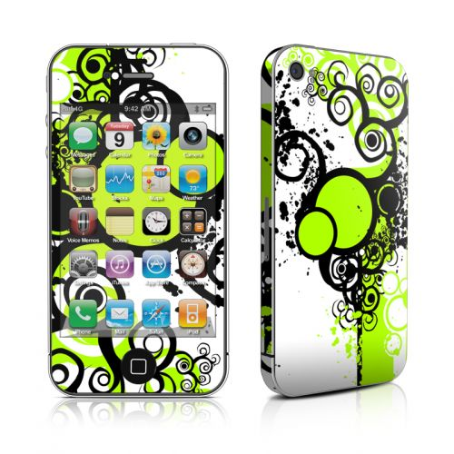 Simply Green iPhone 4s Skin