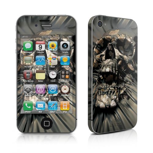 Skull Wrap iPhone 4s Skin