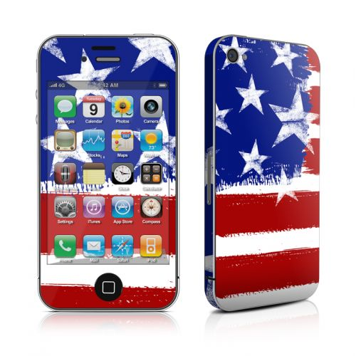 Stars + Stripes iPhone 4s Skin