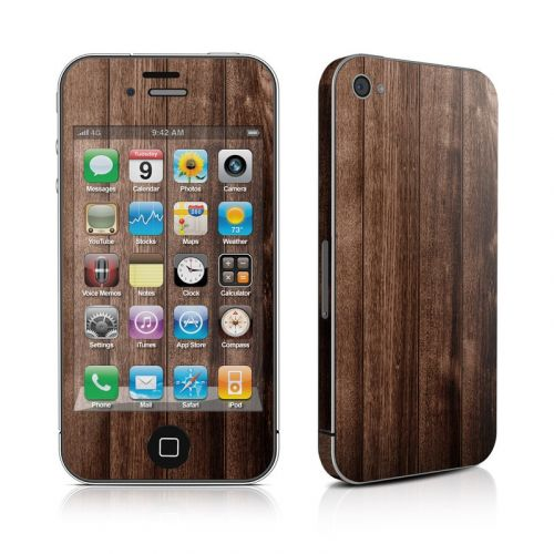 Stained Wood iPhone 4s Skin