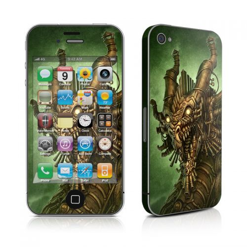 Steampunk Dragon iPhone 4s Skin