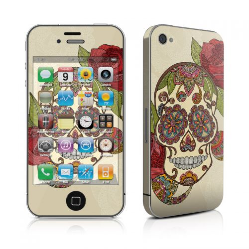 Sugar Skull iPhone 4s Skin