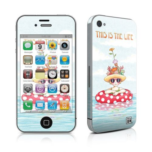 This Is The Life iPhone 4s Skin