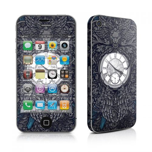Time Travel iPhone 4s Skin