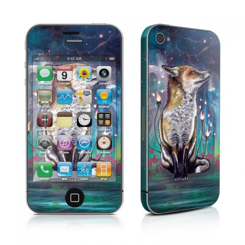 There is a Light iPhone 4s Skin
