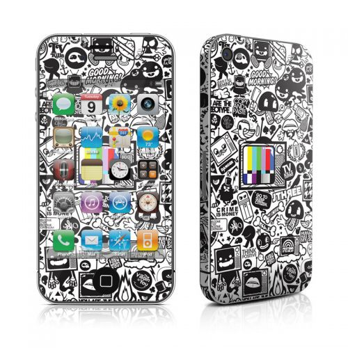 TV Kills Everything iPhone 4s Skin