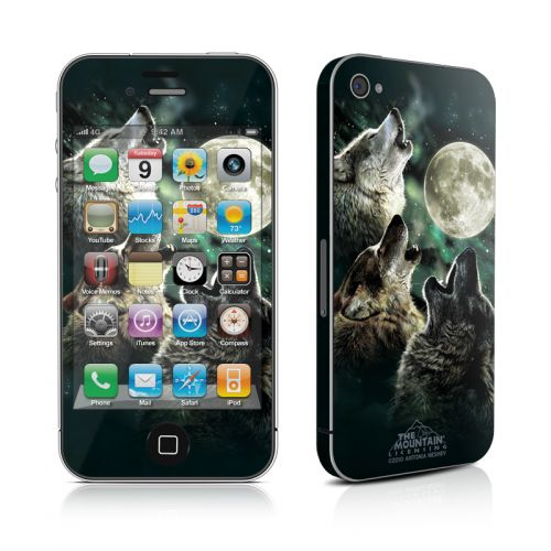 Three Wolf Moon iPhone 4s Skin