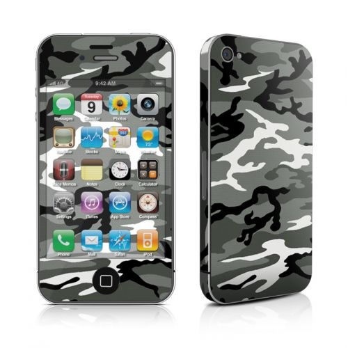 Urban Camo iPhone 4s Skin