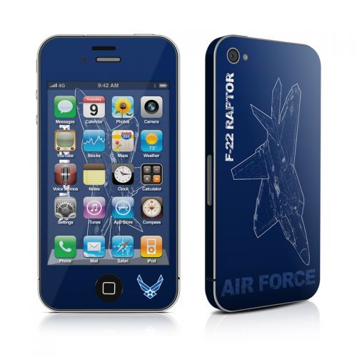 F-22 Raptor iPhone 4s Skin