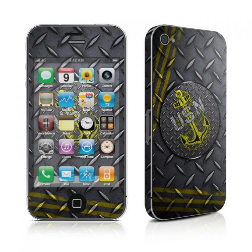 USN Diamond Plate iPhone 4s Skin