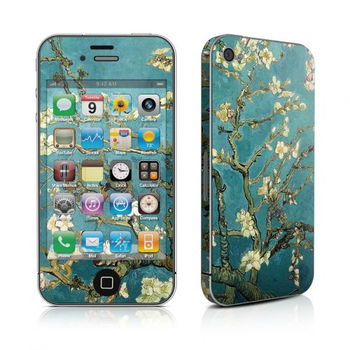 Blossoming Almond Tree iPhone 4s Skin