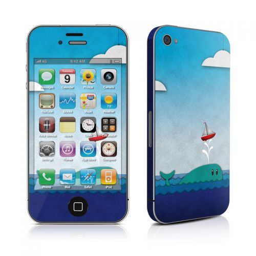 Whale Sail iPhone 4s Skin