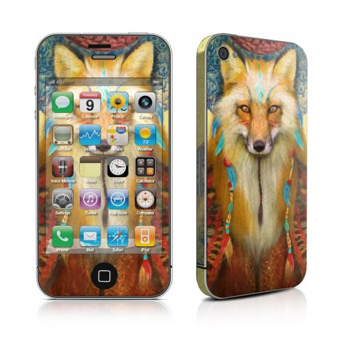 Wise Fox iPhone 4s Skin