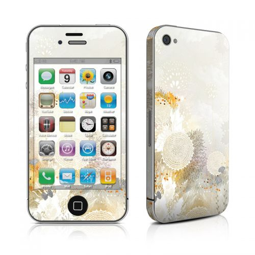 White Velvet iPhone 4s Skin