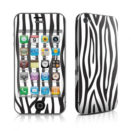 Zebra Stripes iPhone 4s Skin