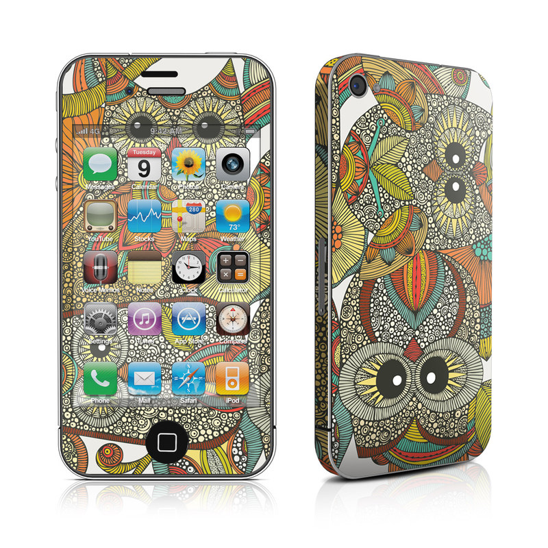 4 owls iPhone 4s Skin