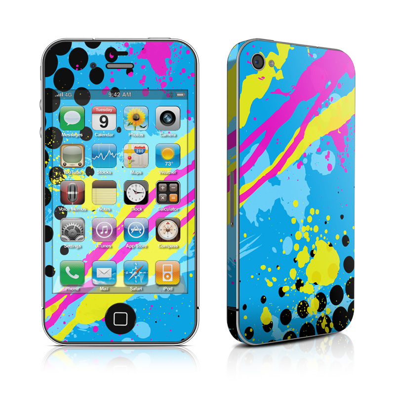 Acid iPhone 4 Skin